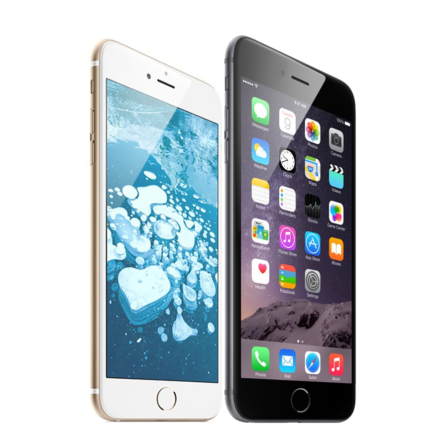 Used and refurbished - iPhone 6 with FaceTime 64\16\128 GB, 4G LTE, silver color