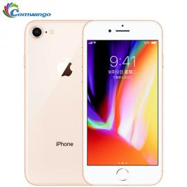 IPhone 8 with FaceTime app, 64GB internal memory, 4G LTE, gold color