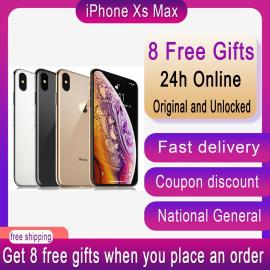 IPhone XS Max with Dual Sim, FaceTime, Silver, 512 GB Memory, 4G LTE - International Specifications
